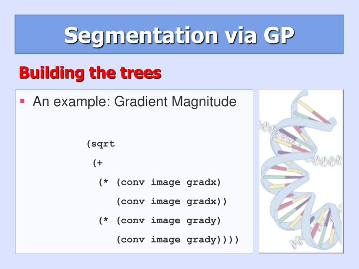 Segmentation via GP