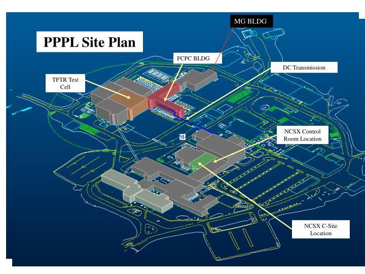 PPPL Site Plan