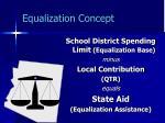 equalization concept