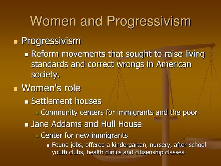 Women and Progressivism