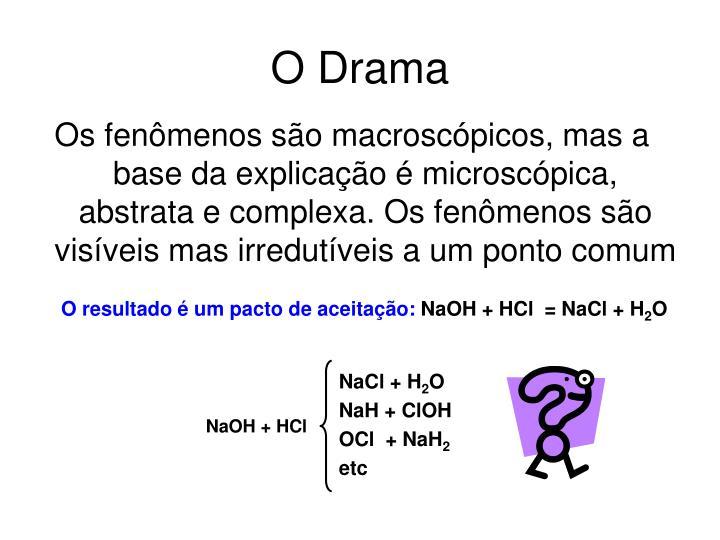 NaCl + H