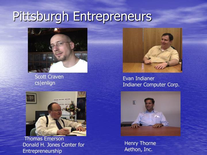 Pittsburgh Entrepreneurs