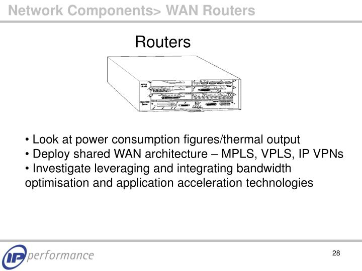 Network Components> WAN Routers