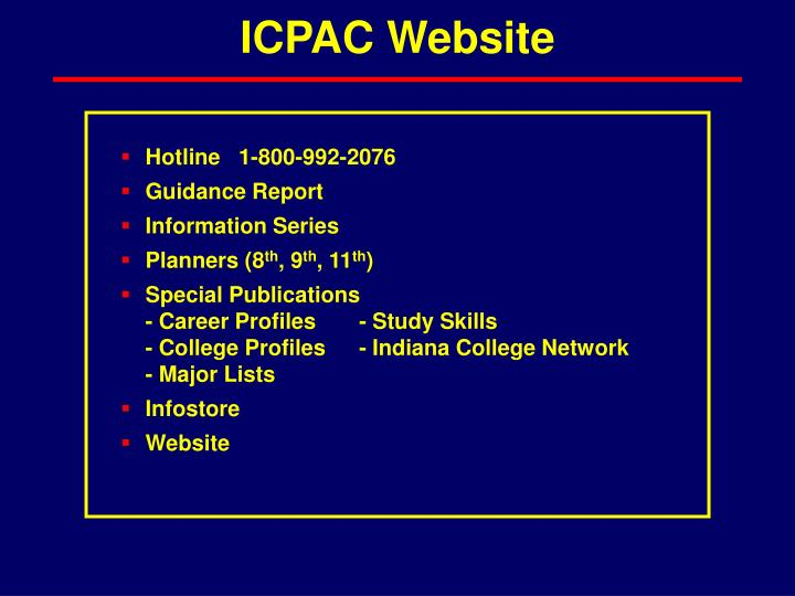 ICPAC Website