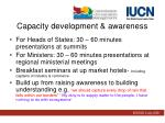 capacity development awareness