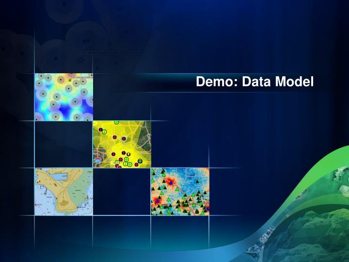 Demo: Data Model