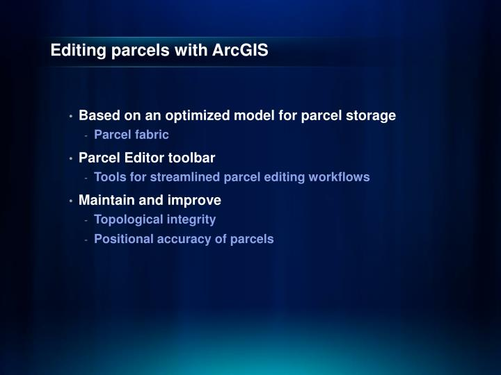 Editing parcels with arcgis1