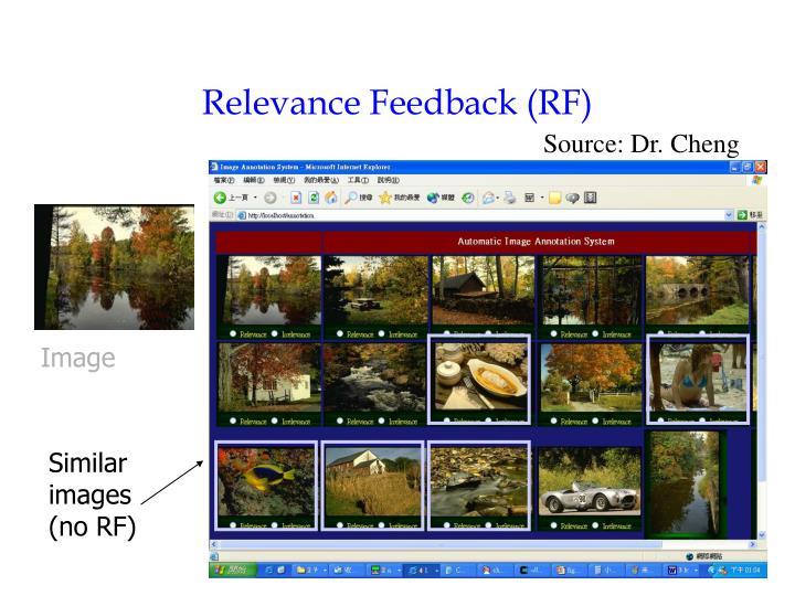 Relevance Feedback (RF)