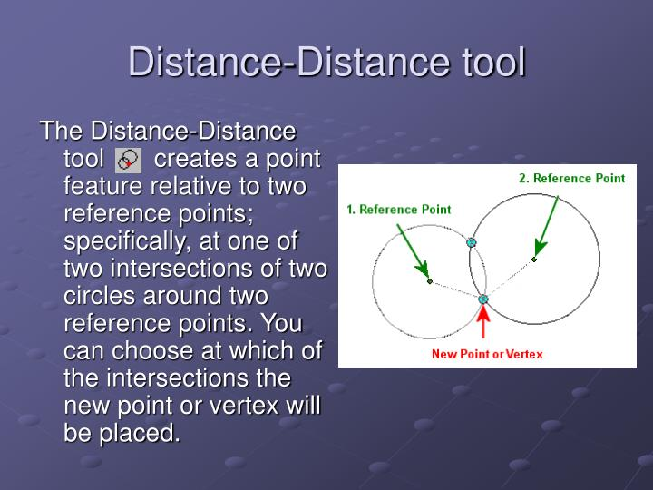 Distance-Distance tool