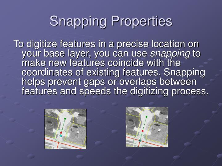 Snapping Properties