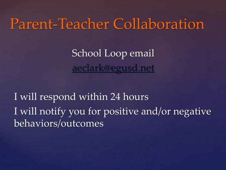 School Loop email