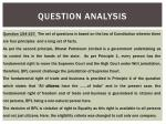 question analysis