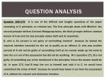 question analysis1