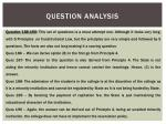 question analysis2