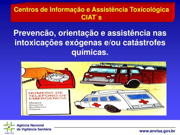 Centros de Informao e Assistncia Toxicolgica