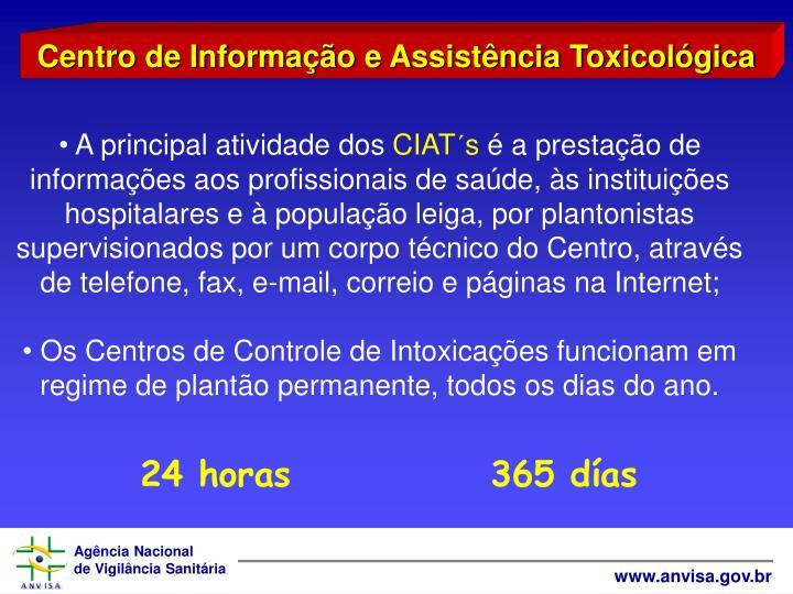 Centro de Informao e Assistncia Toxicolgica