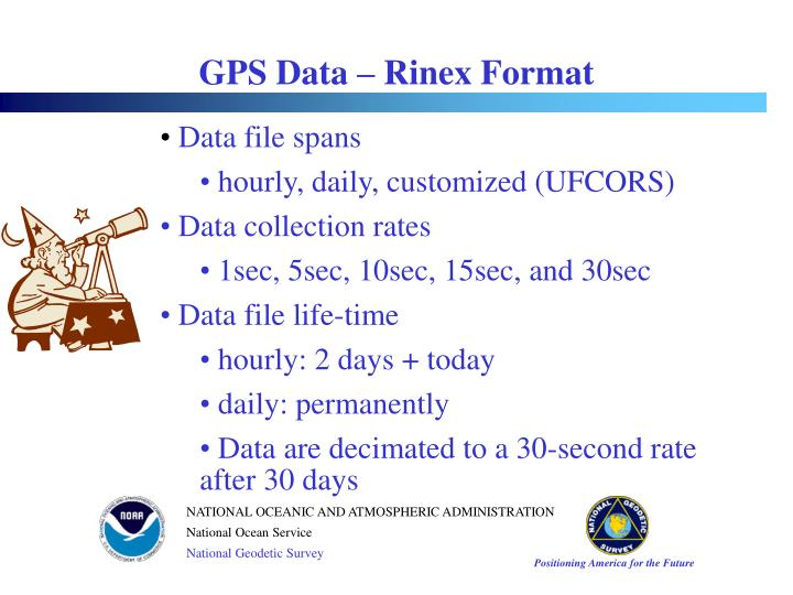 GPS Data – Rinex Format
