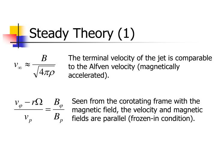 Steady Theory (1)