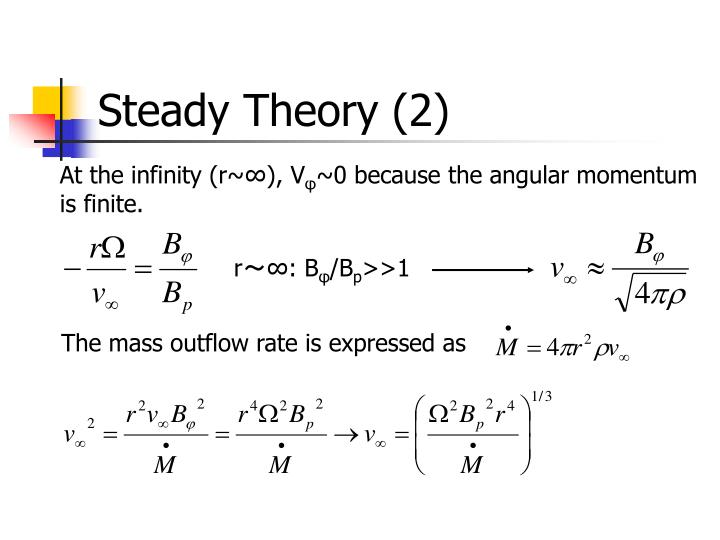 Steady Theory (2)