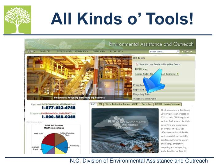 All Kinds o' Tools!