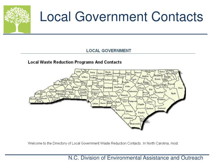 Local Government Contacts