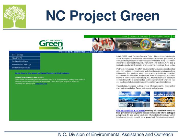 NC Project Green