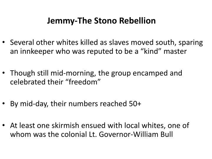 Jemmy-The Stono Rebellion