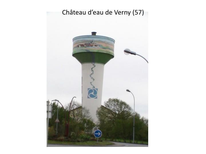 Château d'eau de Verny (57)