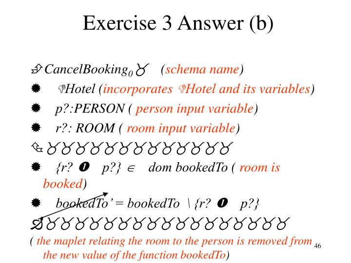 Exercise 3 Answer (b)