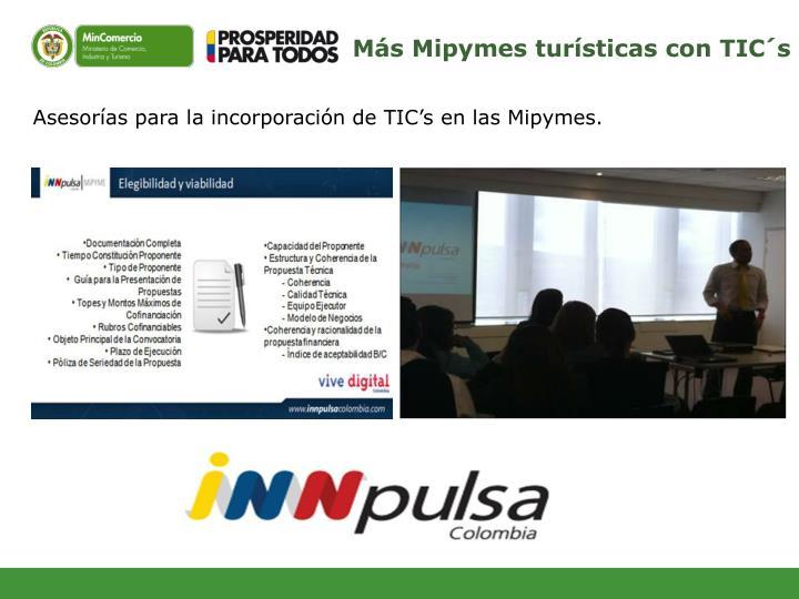 Ms Mipymes tursticas con TICs