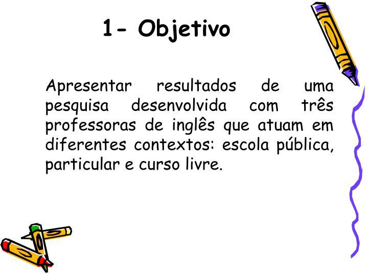 1-Objetivo
