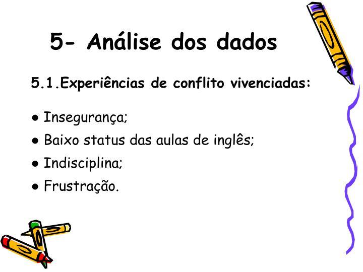 5-Anlise dos dados