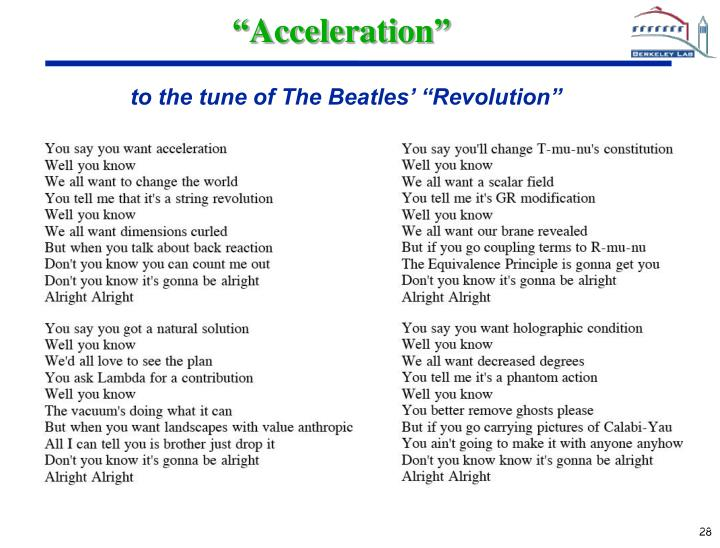 """Acceleration"""