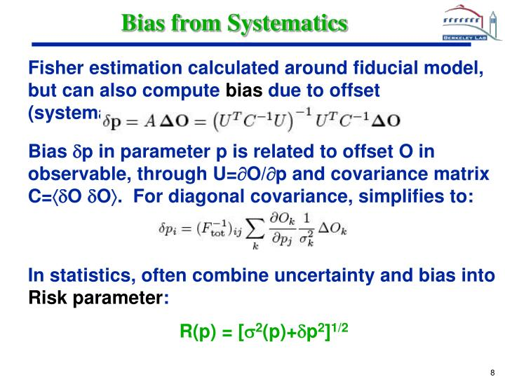 Bias from Systematics