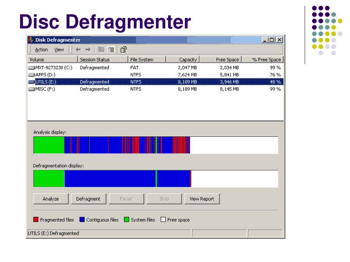 Disc Defragmenter