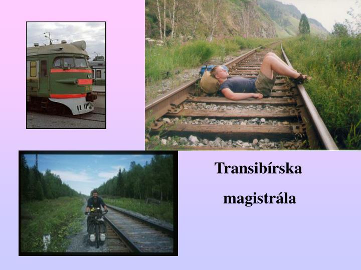 Transibírska