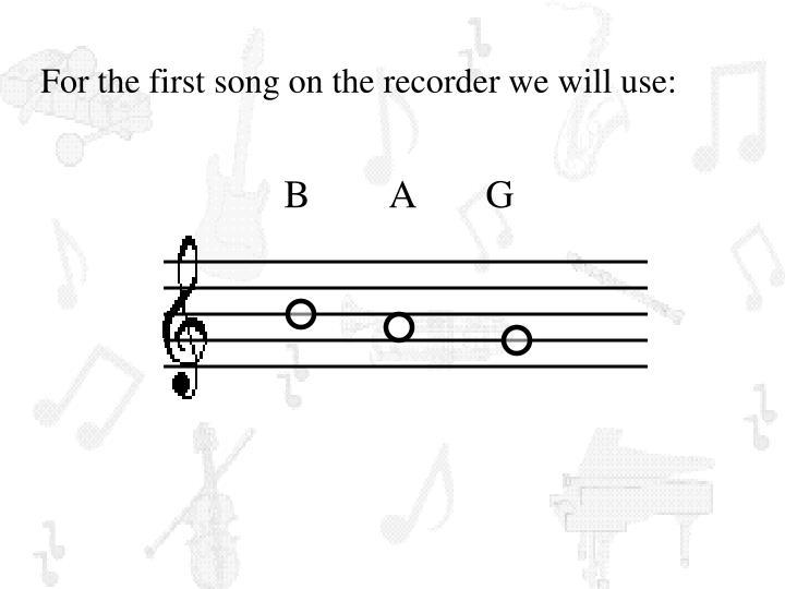 B        A       G