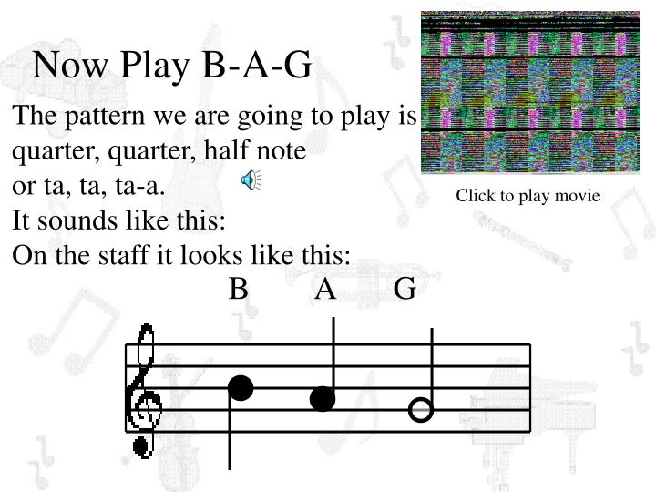 Now Play B-A-G