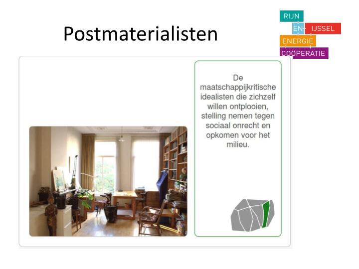 Postmaterialisten