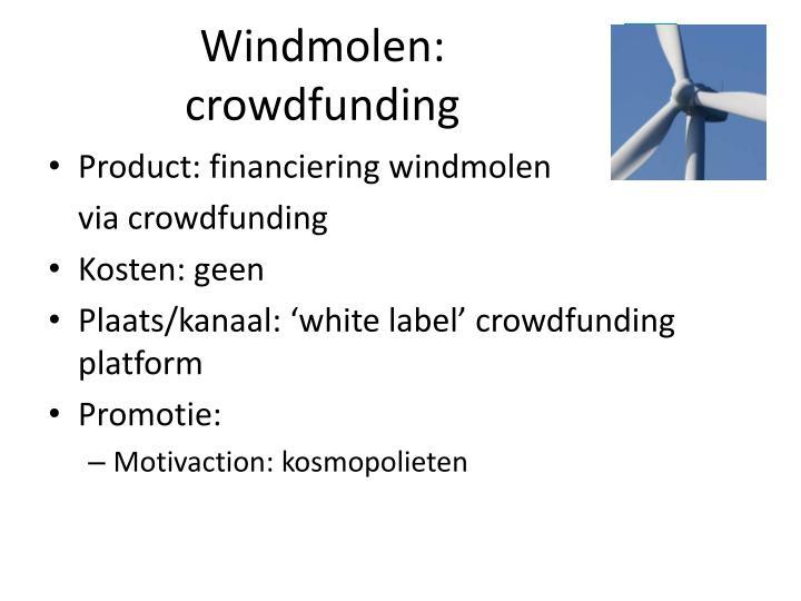 Windmolen: