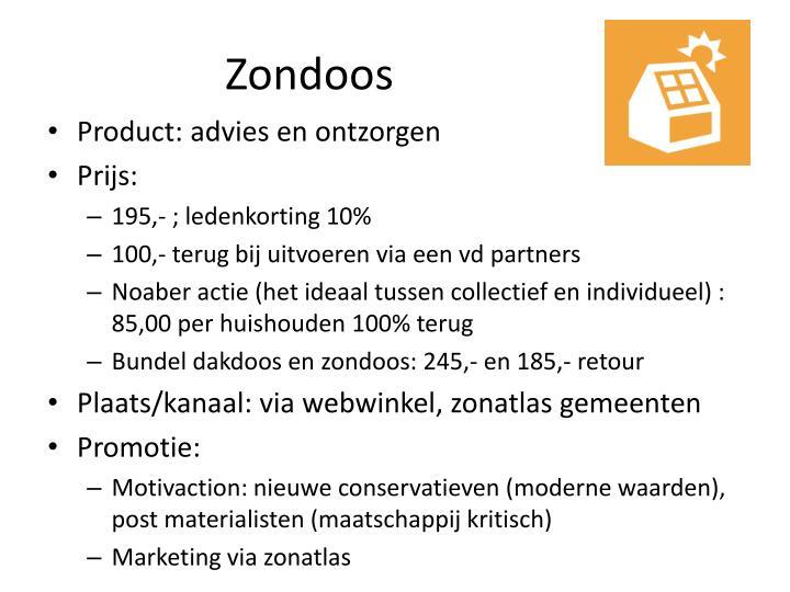 Zondoos