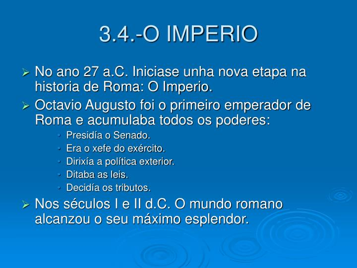 3.4.-O IMPERIO