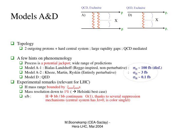 Models A&D