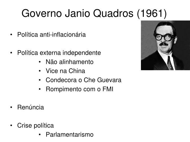 Governo Janio Quadros (1961)