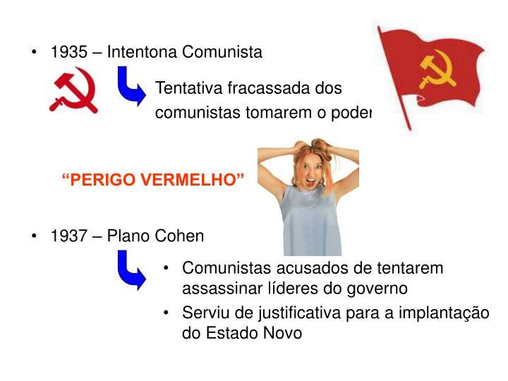 1935 – Intentona Comunista