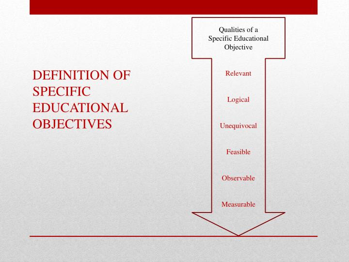 Qualities of