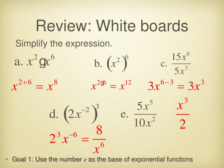 Review: White boards