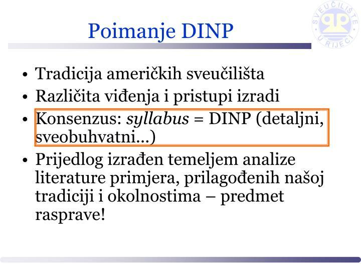 Poimanje DINP