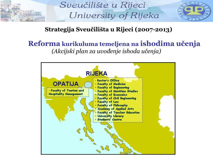 Strategija Sveučilišta u Rijeci (2007-2013)