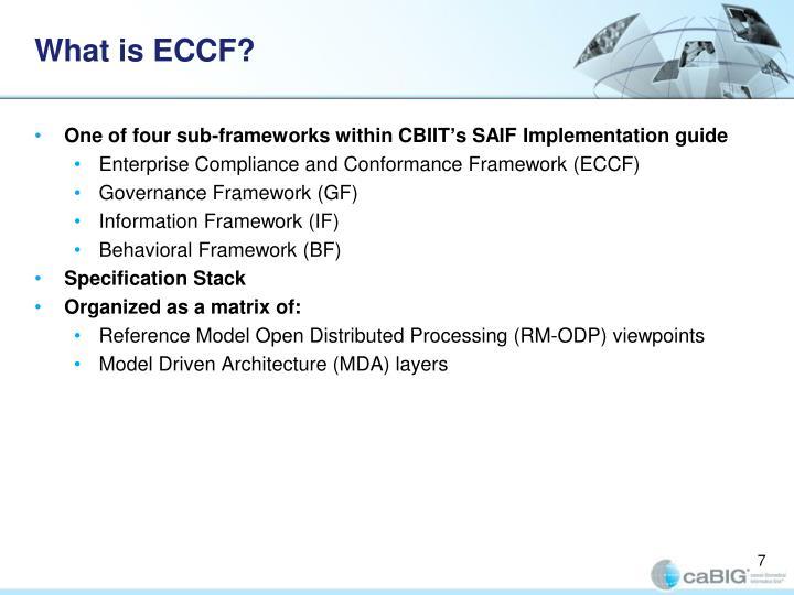 What is ECCF?